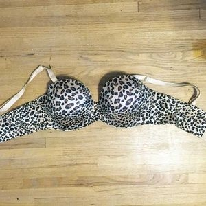 Cacique Intimates & Sleepwear - Cacique Leopard Strap or Strapless Plus Size Bra